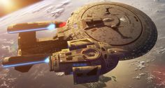 """Star Trek"" Starfleet starship pictures and gifs. Star Wars, Star Trek Tos, Star Trek Wallpaper, Girl Wallpaper, Science Fiction, Uss Enterprise Ncc 1701, Starfleet Ships, Star Trek Starships, Sci Fi Ships"