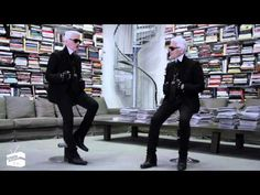 """Face to Face: Karl Lagerfeld. """"The Professional Improviser"""". Karl Lagerfeld, Fendi, Delon, Fashion Videos, Great Videos, Passion For Fashion, Style Icons, Editorial Fashion, Latest Trends"""