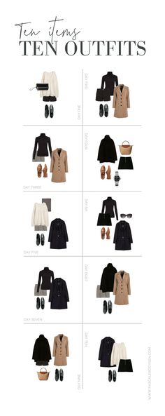 10 Items = 10 Smart-Casual Outfits this Winter challenge] Smart Casual Winter Outfits, Smart Casual Wardrobe, Smart Casual Women, Capsule Wardrobe Work, Outfits Casual, Smart Outfit, 6th Form Outfits Smart, Mens Smart Casual Fashion, Outfit Work