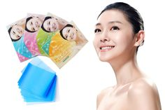 2 Pack Tissue Papers Pro Powerful Makeup Cleaning Oil Absorbing Face Paper Absorb Blotting Facial Cleaner Face Tools