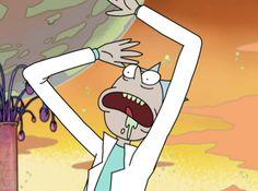 Que raro se mira Rick xD