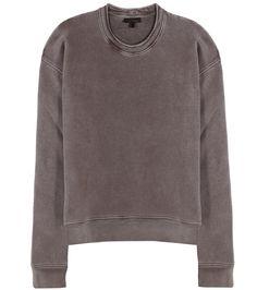 mytheresa.com - Sweat-shirt en coton mélangé (SEASON 3) - Luxe et Mode pour femme - Vêtements, chaussures et sacs de créateurs internationaux