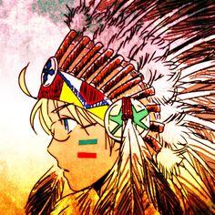 Native American America - Hetalia