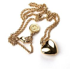 Mini Heart Pendant Necklace ($25) ❤ liked on Polyvore featuring jewelry, necklaces, mini pendant necklace, 18k necklace, heart chain necklace, chain necklaces and gold plated necklace
