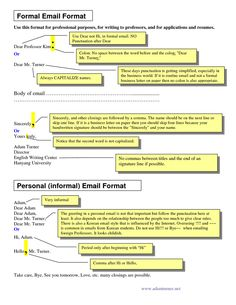 How to write an informal email esl writing pinterest english email letter sample sample of formal business writing formal email format email writing altavistaventures Image collections