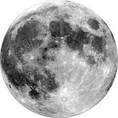 Full moon Temporary tattoo por WildLifeDream en Etsy