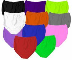 173552172f18d Customizable High Waist Solid Color Poly Plus Size Cotton Panties 0x 1x 2x  3x Supersize 4x 5x 6x 7x 8x 9x
