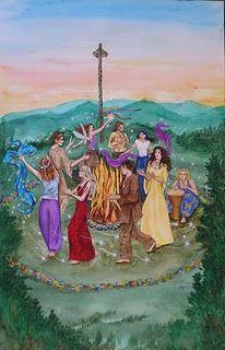 Dancing in the Circle #pagan #art