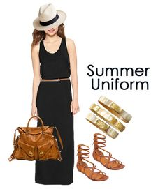 Summer Uniform with a Panama Hat