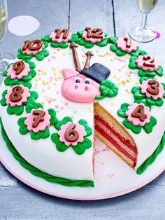 #silvester #torte #rezept #glück #schwein