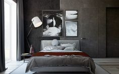 These Dark Bedrooms Will Put You In A Dream-Like State