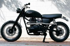 "The Triumph Scrambler ""Jack Pine Special"".. « Motorcycle Photo Of The Day"