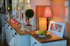 Weihnachtliche Wohnküche und vieeeel Information