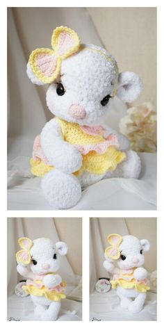 Amigurumi Baby Mouse Free Pattern – Free Amigurumi Patterns