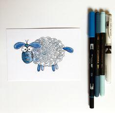 Das ist RATA eines meiner Schafe. Es mag Witze, Eisblumen und Surfen ! Ich liebe es sehr.   Ich habe eine Tierserie für Kinder gezeichnet. Du magst fröhliche Kinderbilder und bunte Illustrationen für Kinder? Dann schau vorbei.   Es gibt Abos FÜR Kinder VON ihren Eltern, die ihre Liebsten überraschen wollen. Nebenbei werden die Kinder motiviert Handschrift zu üben, die Fantasie wird geweckt, da mir viele der Kinder zurückschreiben und eigene Tiere erfinden. Ich liebe die Form der… Forms Of Communication, Kids Writing, Picture Tag, Animals For Kids, Bunt, I Card, Animal Pictures, Sheep, Illustration