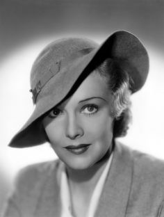 Actress Madeleine Carroll was born today 2-26 in 1906. At one time in the late 30s she was one of the highest paid actresses in the world. She was the icy blond in Hichcock's The 39 Steps. Some of her other films include Secret Agent, The Prisoner of Zenda and Night In Lisbon. She passed in 1987.