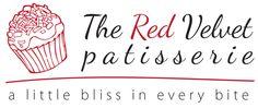 The Red Velvet Patisserie logo design