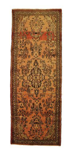TRADITIONAL PERSIAN HAMADAN RUG 112 cm x 308 cm