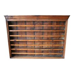 Image of Antique English Walnut Plate Rack  sc 1 st  Pinterest & 18th C. Hanging French Wall/Plate Rack | China cabinets Hutches ...