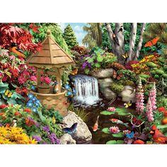 Secret Garden 500 Piece Jigsaw Puzzle