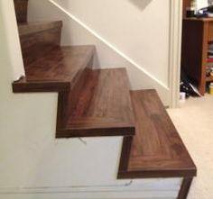 Stair Transition Piece Luxury Vinyl Plank Flooring