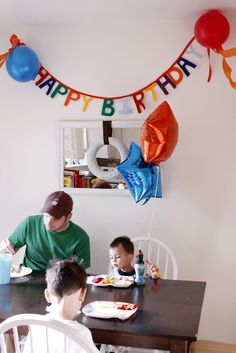 Birthday Banner - perfect for my little one's first birthday!