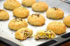לחמניות מהירות מבצק גבינה שניתן למלא במה שתרצו, ללא שמרים והתפחה מצרכים (20 כדורים): 2