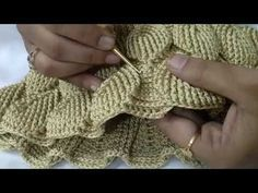 Crochet embossed leaves stitch bag part Crochet bag tutorial Crochet Leaf Patterns, Crochet Doily Rug, Crochet Leaves, Crochet Chart, Free Crochet, Knit Crochet, Crochet Bag Tutorials, Crochet Videos, Stitch Book