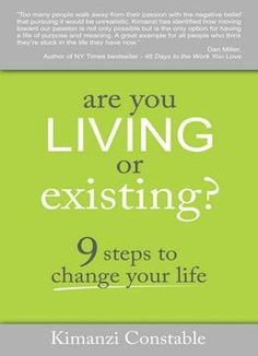 Are You Living Or Existing? PDF