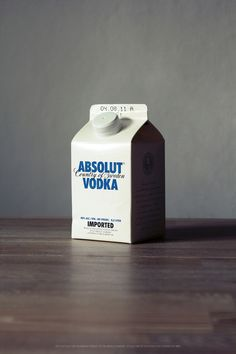 Absolut Milk ;)  (interesting packaging concept tho)