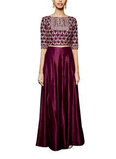 Indian Fashion Designers - Anita Dongre - Contemporary Indian Designer - The Karunya Sharara - AD-AW16-PH3-FW16MB092