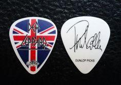 Def Leppard Guitar Pick! Phil Collen Union Jack Guitar Pick!