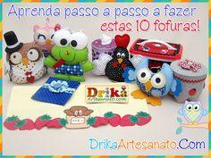 Você pesquisou por  • Drika Artesanato - O seu Blog de Artesanato!
