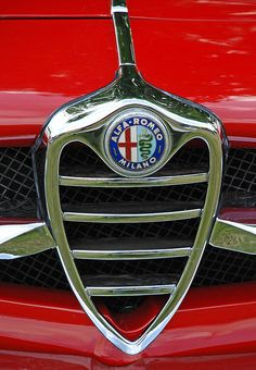 Alfa Romeo Badge on Giulia 1600 Sprint Speciale (Bertone) 1966...Re- pin brought to you by #LowcostcarIns. at #HouseofInsurance #EugeneOregon