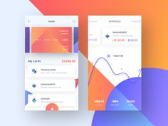 Several mobile app screens from the Xibank project - online banking system. Be sure to check out the attachment! :) *** Want to say hi? Drop us a few lines at hello@outcrowd.io Or be a part of o...