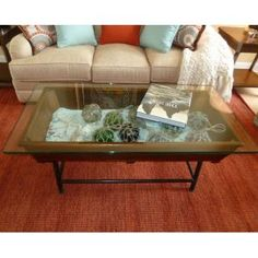 display coffee table... or maybe this one!