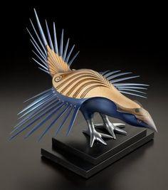 Blue Grouse by Rex Homan, Māori artist