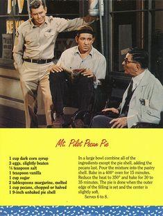 Mayberry Mt. Pilot Pecan Pie Recipe Postcard | Flickr - Photo Sharing!