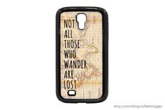 Samsung Galaxy S3 Case Not All Those Who Wander Are by afterimages, $15.99
