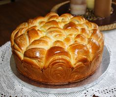 "Bulgarian Pitka ""Kifli"" ( Butter Bread) Recipe"