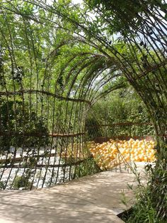 Ma Cassette _ festival international des Jardins de Chaumont-sur-Loire 2014 _ Luquet, Leroux, Klipfel Living Willow _ saule vivant