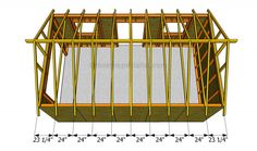 This step by step diy project is about how to build a garage roof. Building a roof for a single car garage is easy, but there are a few thing you should take into account. Building A Garage, Garage Roof, Old Garage, Gazebo Roof, Roof Deck, Tongue And Groove Plywood, Framing Construction, Wood Construction, Roof Truss Design