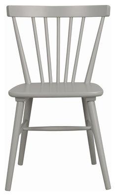 Akita+Spisebordsstol++Grå+Gummitræ+-+ Akita, Chair, Vintage, Furniture, Home Decor, Homemade Home Decor, Home Furnishings, Vintage Comics, Interior Design