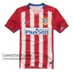 Primera camiseta de Atletico de Madrid 2015 2016 | Camisetas de futbol baratas 15,5€