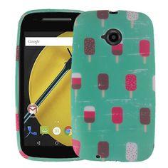 Moto E Case (2nd Gen), Moto E2 Case, Mintscicle TPU Silicone Skin Phone Case Cover | www.nucecases.com | #Motorola #nucecases