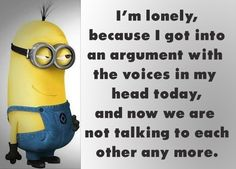 I'm lonely...
