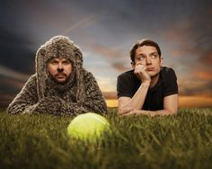 Jason Gann and Elijah Wood in Wilfred. Too funny!