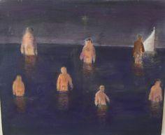"Katherine Bradford, ""Men"", 2007"