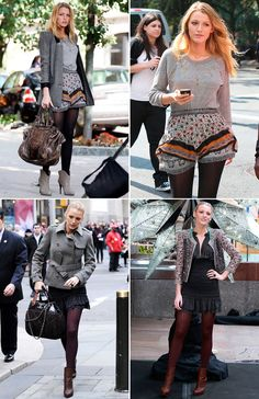 BLAKE LIVELY STYLE ICON   Collage Vintage