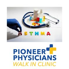 Living with Asthma Treat your Symptoms at Pioneer Physicians Pioneer Physicians Monday to Saturday to How Is Asthma Diagnosed, What Is Asthma, Walk In Clinic, Inflammation Causes, Hard Breathing, Emergency Care, American Academy Of Pediatrics, Asthma Symptoms, Intensive Care Unit